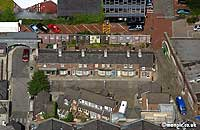 aerial                   photo of Coronation Street
