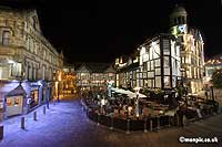 shambles                   square at night